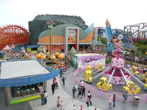 Nickelodeon Land at Blackpool Pleasure Beach Photo: Nick Sim