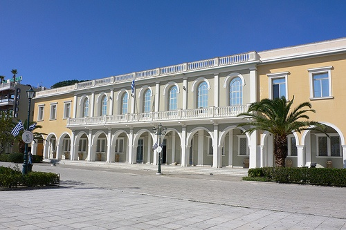 Zakynthos Museum on Solomos Square Photo: Heatheronhertravels.com
