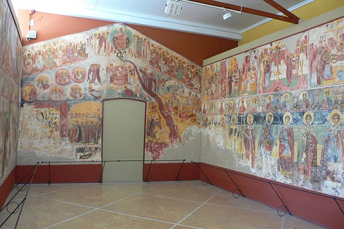 Frescos at Zakynthos Museum on Solomos Square Photo: Heatheronhertravels.com