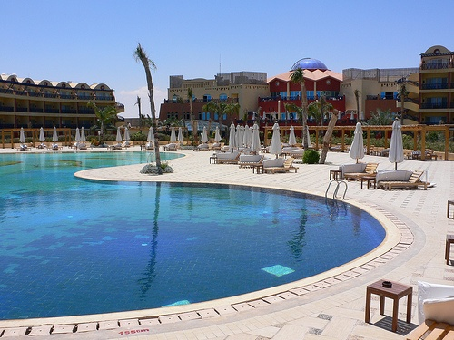 Beau Rivage Hotel at Marsa Martrouh Photo: Heatheronhertravels.com
