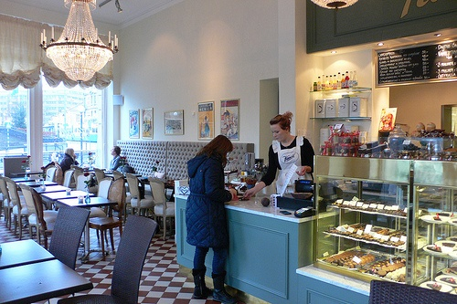 Cafe Kanold in Gothenburg, Sweden Photo: Heatheronhertravels.com