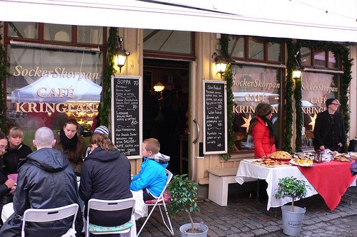 Cafe Kringlan in Haga, Gothenburg, Sweden Photo: Heatheronhertravels.com