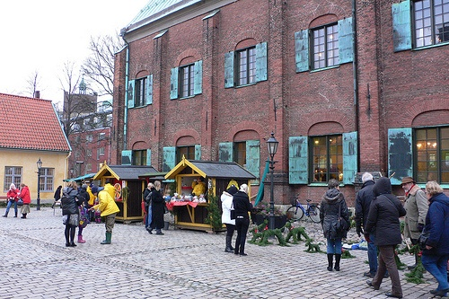 Christmas market at Kronhuset in Gothenburg Photo: Heatheronhertravels.com