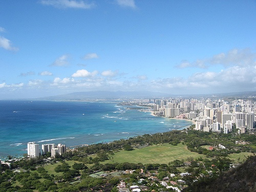 Diamond Head's View of Honolulu Photo: RaSchi of Flickr