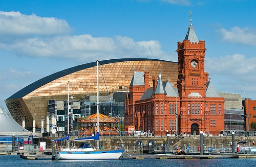 Visit Cardiff, Capital of Wales Photo: cardiffandco on Flickr