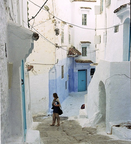 Chefchaouen in Morocco Photo: Fulvio's photos on Flickr