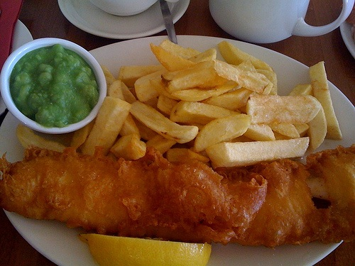 Fish and Chips in Brighton Photo: drchrispinnock of Flickr
