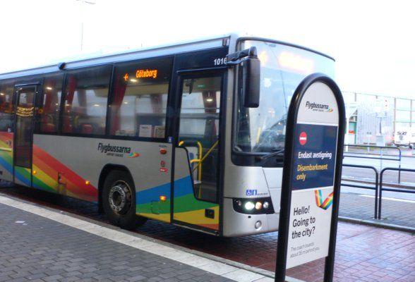 Take the Flybussarna to Gothenburg airport Photo: Heatheronhertravels.com