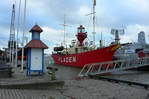 Maritiman museum in Gothenburg