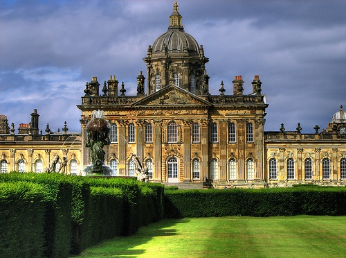 Castle Howard in Yorkshire Photo: Darwin70 of Flickr