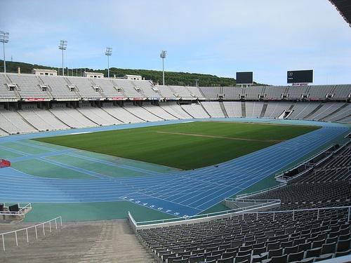 Estadi Olímpic Montjuic Lluis Companys, Barcelona, Spain Photo: Hugo Cadavez of Flickr