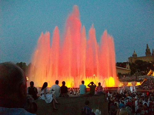 Magic Fountain at Montejuic, Barcelona Photo: Keith Laverack of Flickr