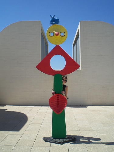 Miró museum Photo: ginsnob of Flickr