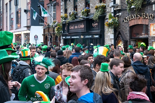 St Patrick's day in Dublin Photo: Lendog64 on Flickr