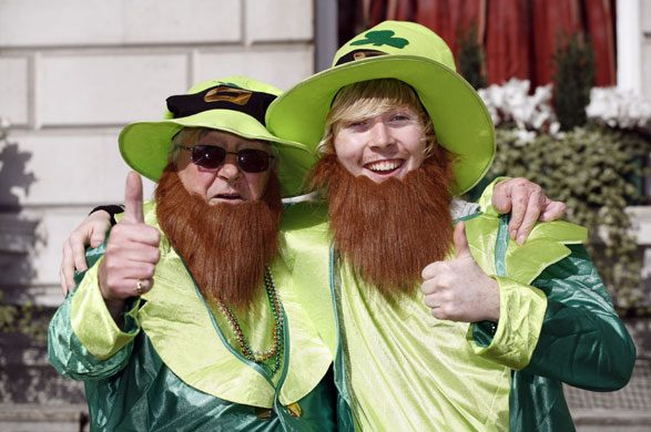 St Patrick's day celebrations in Ireland