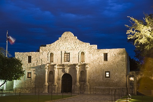 Alamo in Texas Photo:VisitSanAntonio