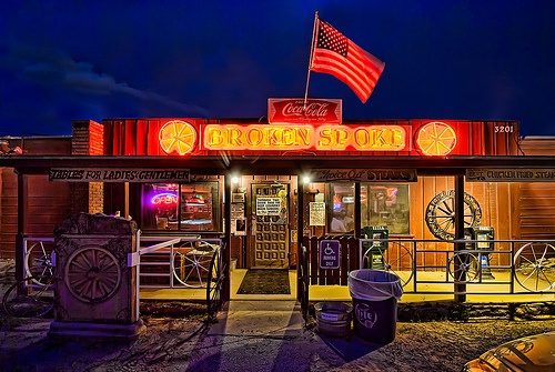 The Broken Spoke in Austin Photo: Visualist images on Flickr