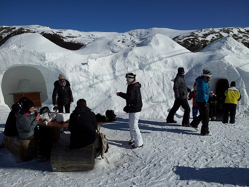 Snow Bar in Pas de la Casa, Andorra Photo: Heatheronhertravels.com