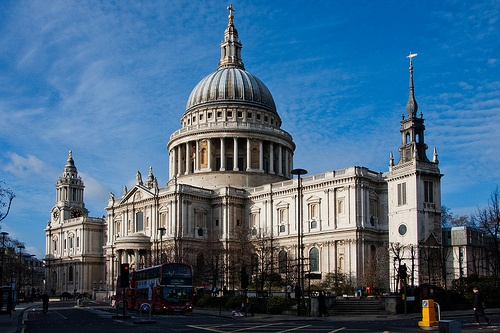 St Paul's Cathedral in London Photo: Gary Knight on Flickr