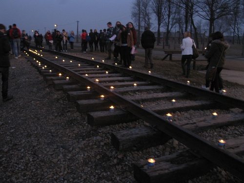 Road of no return - Auschwitz Photo: Heatheronhertravels.com