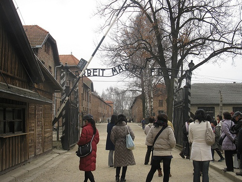 Work makes you free - entrance to Auschwitz Photo: Heatheronhertravels.com