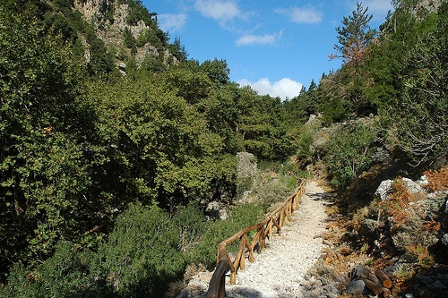 Walking the Gorge of Agia Irini in Crete Photo: oliver regelmann on Flickr