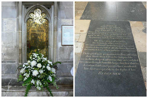 Jane Austen Winchester cathedral Photo: Heatheronhertravels.com