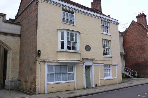 The house where Jane Austen died in Winchester Photo: Heatheronhertravels.com