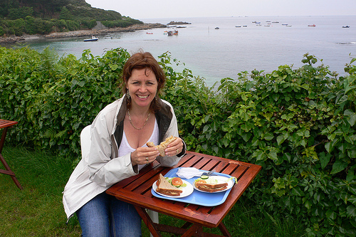Crab sandwiches on Guernsey Photo: Heatheronhertravels.com