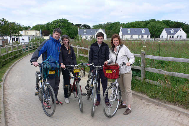 Cycling on Sark Photo: Heatheronhertravels.com