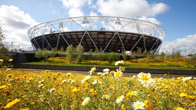 Olympic stadium 2012 Photo: London2012.com