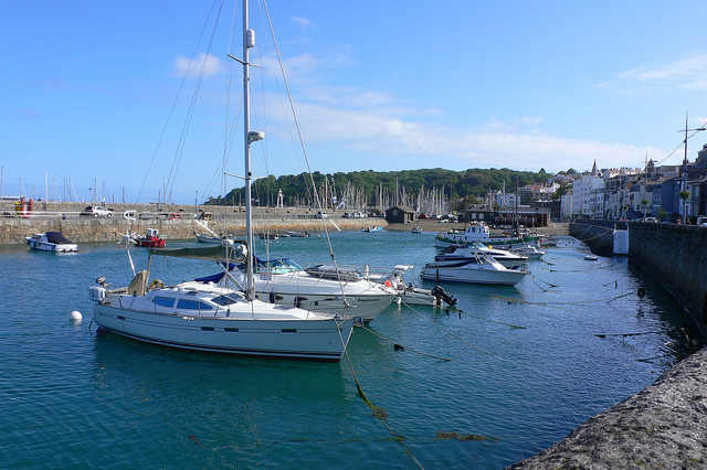 St Peter's Port in Guernsey Photo: Heatheronhertravels.com