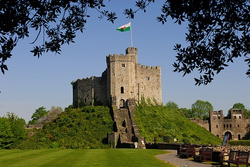 The Keep at Cardiff Castle Photo: Cardiff & Co