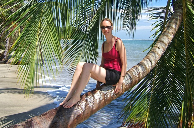Hanging out on a palm tree in Costa Rica Photo: OntheLuce.com