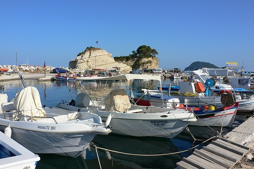 Harbour at Agios Sostis, Zakynthos Photo: Heatheronhertravels.com