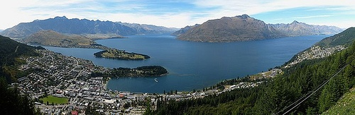 Lake Wakatipu, Queenstown Gondola Photo: wikipedia