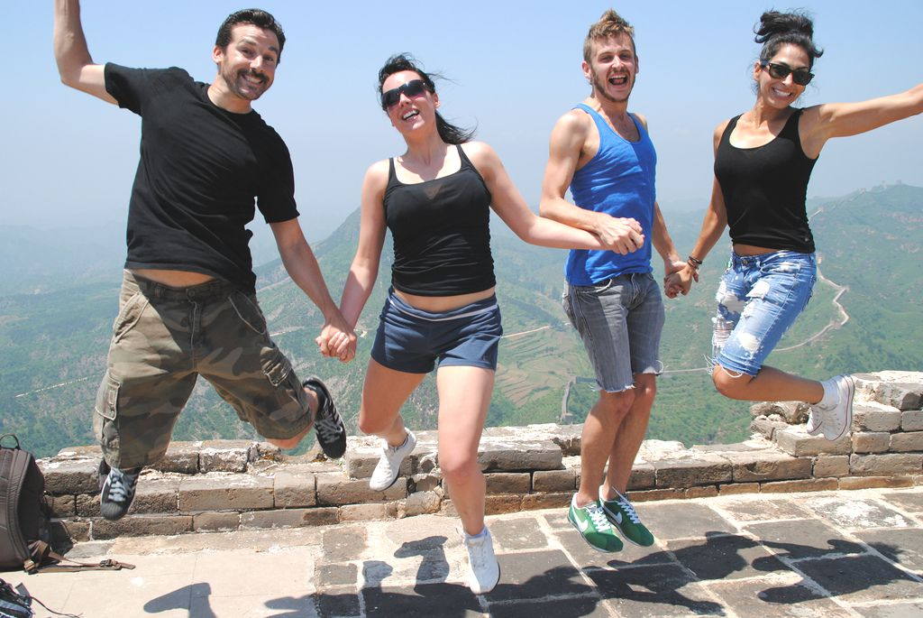 On the Great Wall of China Photo Leaveyourdailyhell.com