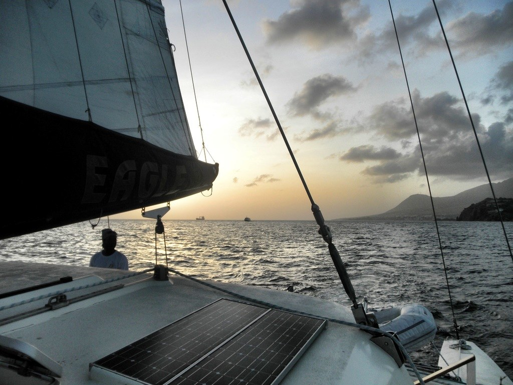 Sailing in St Kitts Photo: Landlopers.com