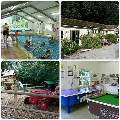 The facilities at Woodovis Park, Devon Photo: Heatheronhertravels.com