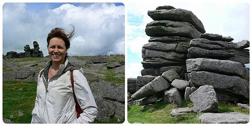 Great Staple Tor on Dartmoor Photo: Heatheronhertravels.com