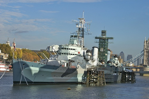HMS Belfast in London Photo by iambents on Flickr