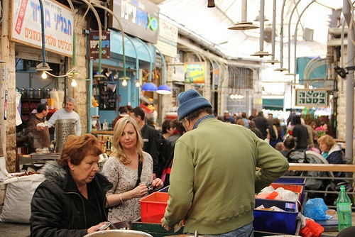 Mahane Yehuda Market in Jerusalem Photo: Sally Hunt