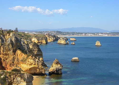 Ponta de Piedade, Lagos,Portugal Photo: Girolame on Flickr