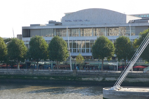 Royal Festival Hall in London Photo: Heatheronhertravels.com