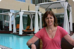 The rooftop pool at Hotel Sorella, City Centre, Houston