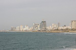 View of Tel Aviv skyline