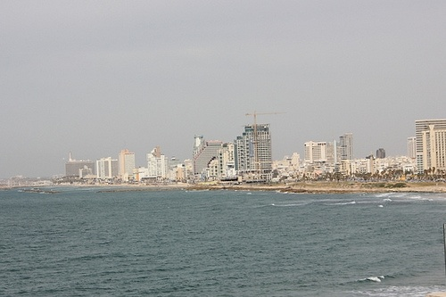 View of Tel Aviv skyline Photo: Sally Hunt