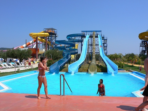 Waterpark at Sarakinado on Zakynthos Photo: HEatheronhertravels.com