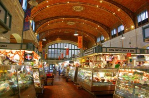 West Side Market Hall, Cleveland, Ohio Photo: JulioGonzalez1 on Flickr
