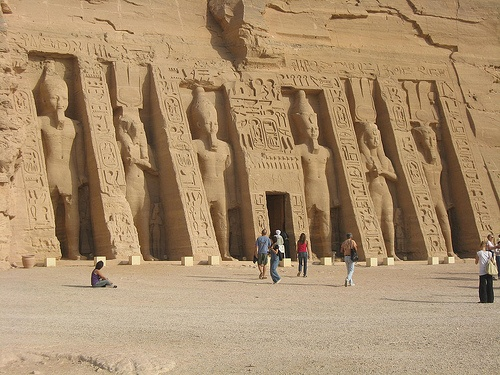 Abu Simbel in Egypt Photo: WaterpoloSam on Flickr
